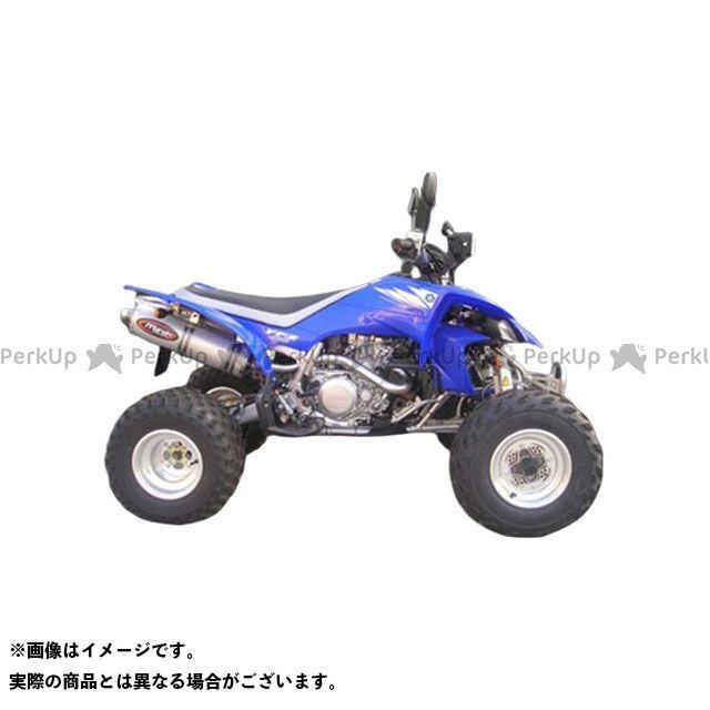 【エントリーで最大P21倍】マービング ATV・バギー マービングマフラー Group Big Oval Quad Atv Line アルミ (クワッド・4輪バイク)YFZ 450 R 2005 YAMAHA Quad - Y/150/I Marving
