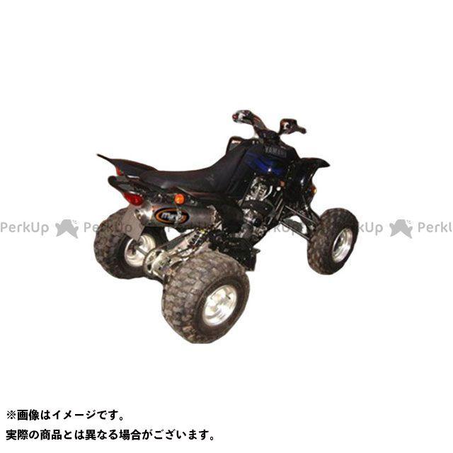 マービング ATV・バギー マービングマフラー Single Big Oval Quad Atv Line アルミ (クワッド・4輪バイク)YFM 660 RAPTOR 2003 YAMAHA Quad - E Marving