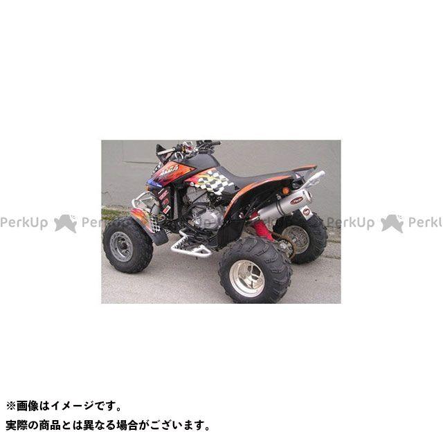 マービング ATV・バギー マービングマフラー Single Small Oval Quad Atv Line アルミ (クワッド・4輪バイク)DS 650 2005> CAN AM Quad - EU/AL/ Marving