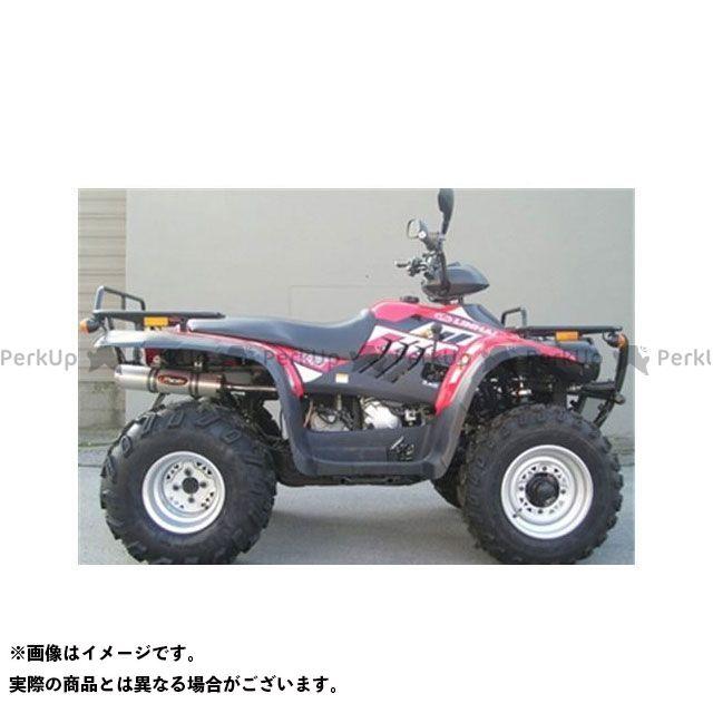 マービング ATV・バギー マービングマフラー Group Small Oval Quad Atv Line アルミ (クワッド・4輪バイク)300 CLASSIC 4X4 2006 > LINHAI Quad Marving
