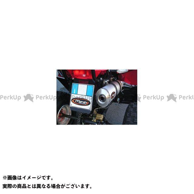 【エントリーで最大P23倍】マービング ATV・バギー マービングマフラー Single Small Oval Quad Atv Line アルミ (クワッド・4輪バイク)450 2007 > DINLI Quad - EU/ALO/D6 Marving