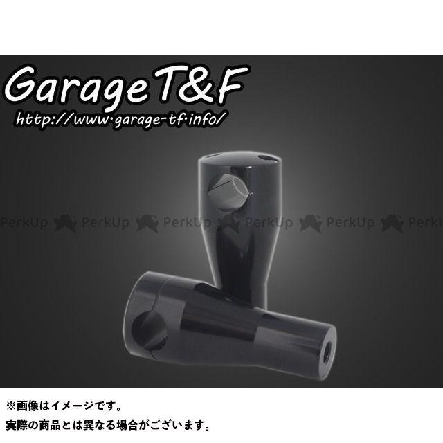 ガレージT&F SR400 ハンドルポスト4インチ カラー:ブラック ガレージティーアンドエフ