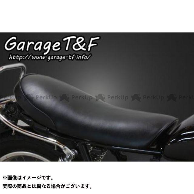 ガレージT&F SR400 スムースシート Face-2(ブラック) ガレージティーアンドエフ