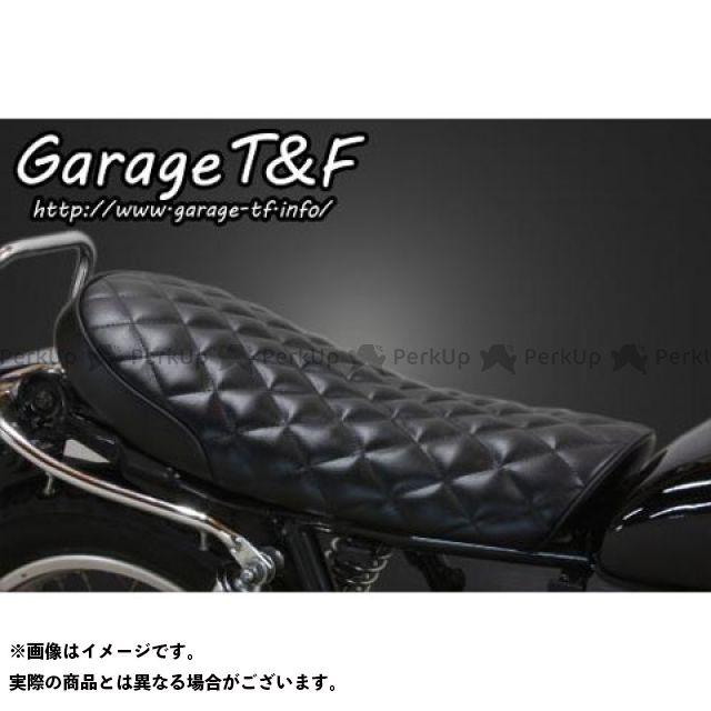 ガレージT&F SR400 ダイヤシート Face-2(ブラック) ガレージティーアンドエフ