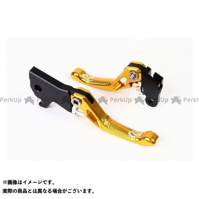リデア RIDEA レバー ハンドル リデア PCX125 PCX150 3Dショートノブアジャストブレーキレバー 左右セット(ゴールド)  RIDEA