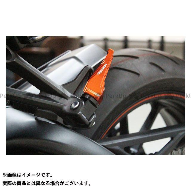 リデア MT-07 MT-09 トレーサー900・MT-09トレーサー タンデムステップ(オレンジ) RIDEA