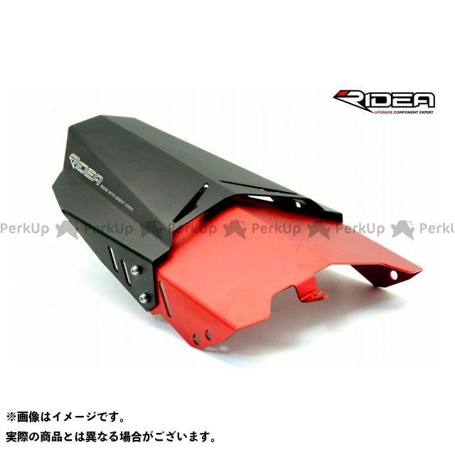 【特価品】リデア MT-09 トレーサー900・MT-09トレーサー リアフェンダー(レッド) RIDEA