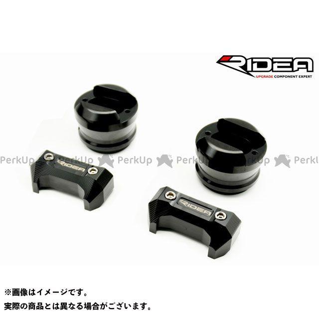 【特価品】リデア MT-10 YZF-R1 YZF-R1M フレームスライダー(ブラック) RIDEA