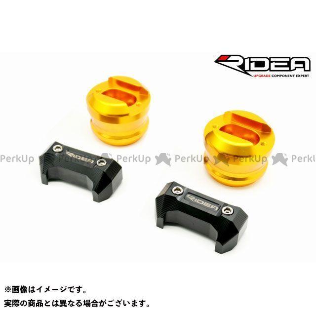 リデア MT-10 YZF-R1 YZF-R1M フレームスライダー(ゴールド)  RIDEA