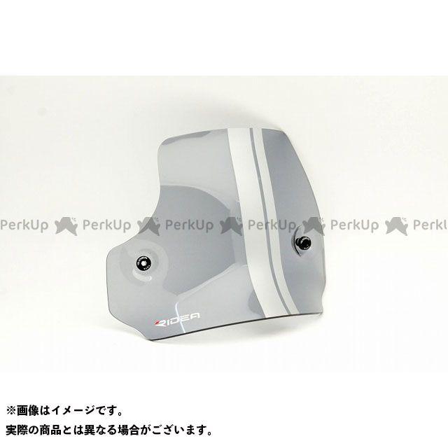 【特価品】リデア XSR900 ウィンドスクリーン(ライトスモーク/ブラック) RIDEA