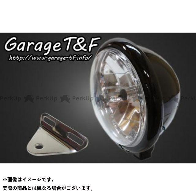 ガレージT&F シャドウスラッシャー 5.75インチベーツライト&ライトステー(タイプA)キット ブラック ガレージティーアンドエフ