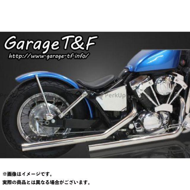 ガレージT&F シャドウスラッシャー ドラッグパイプマフラー タイプII カラー:ステンレス ガレージティーアンドエフ