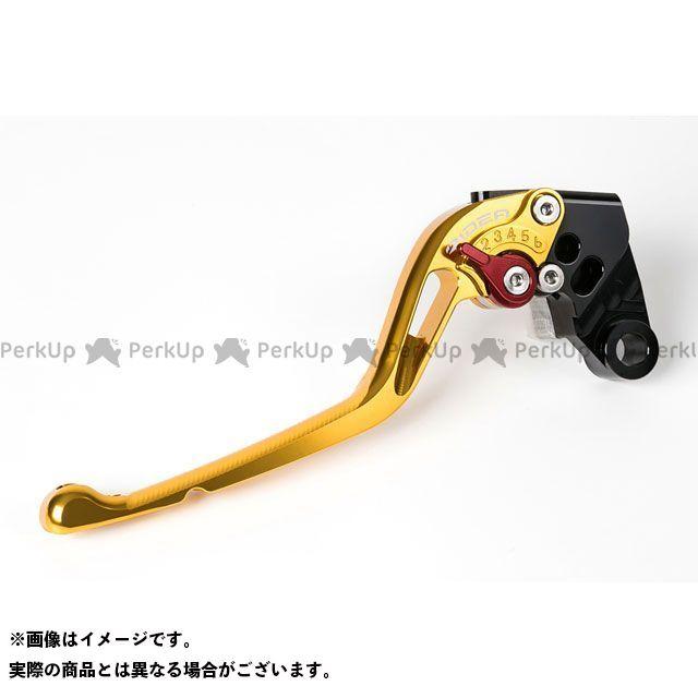 リデア YZF-R15 アジャストクラッチレバー(ゴールド) レッド RIDEA