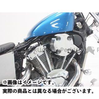 【無料雑誌付き】ガレージT&F スティード400 ビレット(タイプI)&プッシュロッドカバーキット ガレージティーアンドエフ