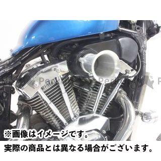 ガレージT&F スティード400 ファンネル&プッシュロッドカバーキット ガレージティーアンドエフ