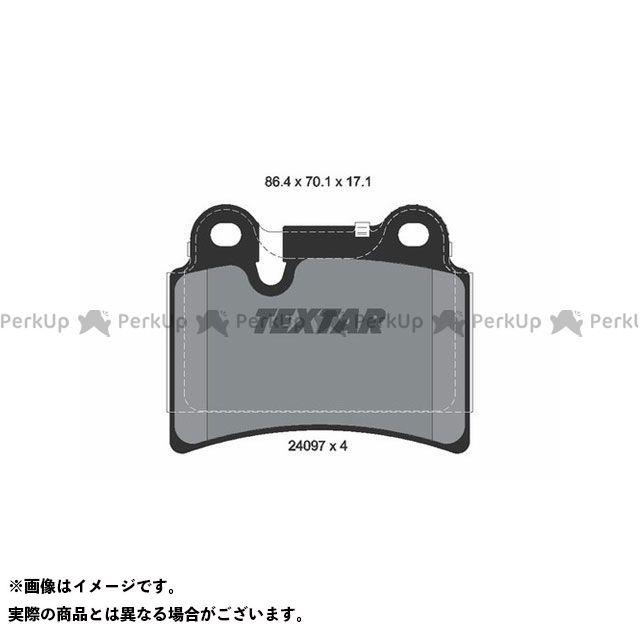 【エントリーで更にP5倍】Textar 2409701 ブレーキパッド TEXTAR
