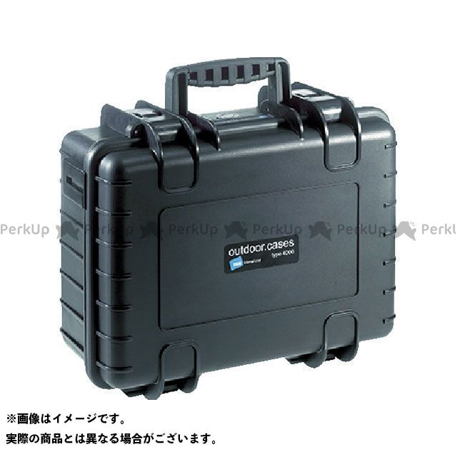 【無料雑誌付き】B&W プロテクタケース 4000 黒 フォーム B&W