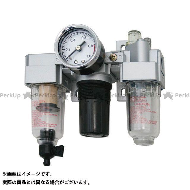 AIR MASTER トリオユニット (圧力調整器+空気清浄器+油潤滑器)  AIR MASTER