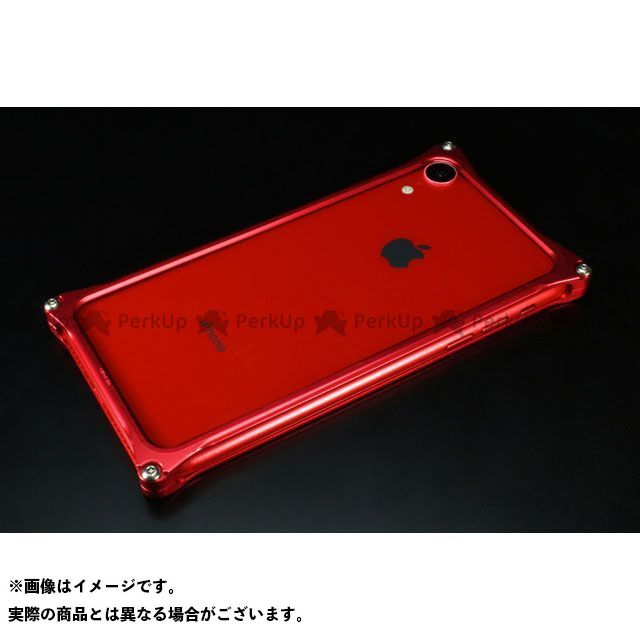GILD design(mobile item) GI-424R ソリッドバンパー for iPhone XR(レッド) GILD design