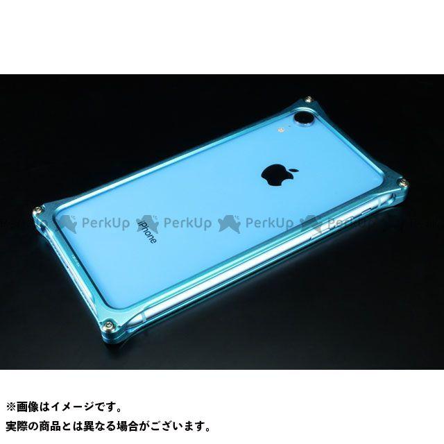 GILD design(mobile item) GI-424LB ソリッドバンパー for iPhone XR(ライトブルー) GILD design