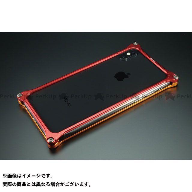 GILD design(mobile item) GIEV-422GRT Solid Bumper for iPhone Xs/X(EVANGELION Limited) エヴァンゲリオン2号機 GILD design