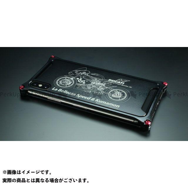【エントリーで更にP5倍】GILD design(mobile item) GKL-422BIK くまモン×ラ・ベレッツァ×GILDdesignコラボケース iPhoneXs/X バイクモデル GILD design