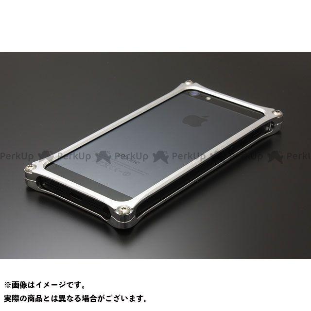 GILD design(mobile item) GI-262S ソリッドバンパー for iPhone SE/5s/5(シルバー) GILD design