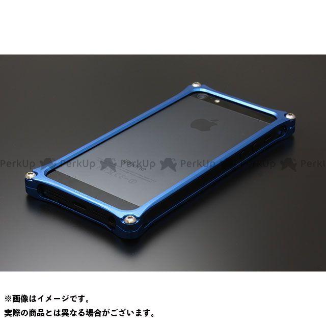 GILD design(mobile item) GI-262BL ソリッドバンパー for iPhone SE/5s/5(ブルー) GILD design