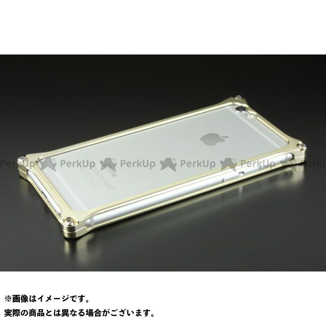GILD design(mobile item) GI-242CG ソリッドバンパー for iPhone 6/6s(シャンパンゴールド) GILD design