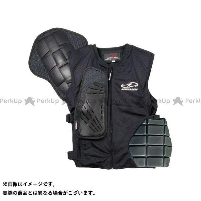 【特価品】ラフ&ロード RR10061 ボディプロテクターベスト(ブラック) サイズ:LL メーカー在庫あり ラフアンドロード