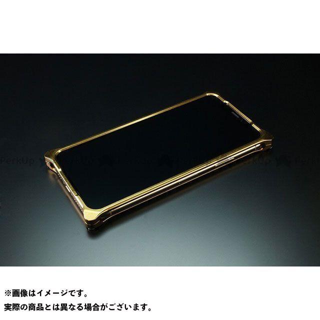 GILD design(mobile item) GI-422SG ソリッドバンパー for iPhone Xs/X(シグネイチャーゴールド) GILD design