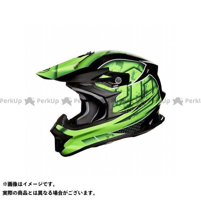 ZEALOT ジーロット オフロードヘルメット ヘルメット ZEALOT MadJumper II(マッドジャンパー2) CARBON HYBRID GRAPHIC GREEN XXL ジーロット