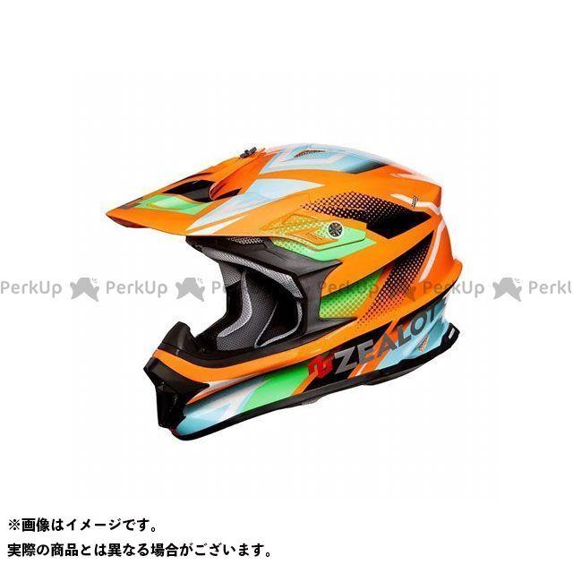 ジーロット 上等 ZEALOT オフロードヘルメット ヘルメット MadJumper II お買い得 ORANGE BLUE メーカー在庫あり マッドジャンパー2 サイズ:XXL GRAPHIC