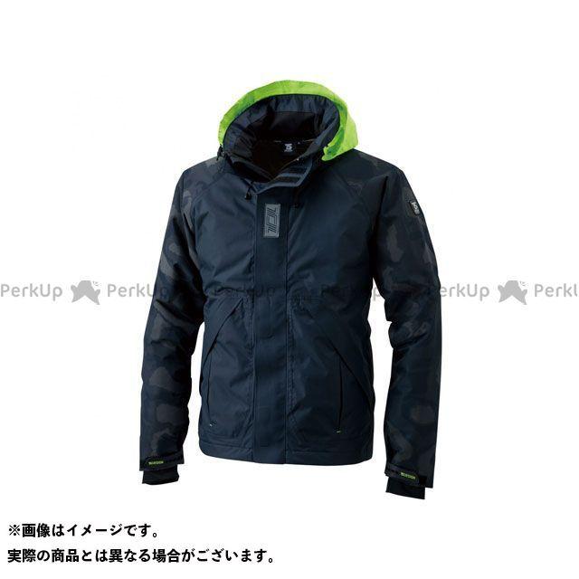TSデザイン TS DESIGN ジャケット バイクウェア TSデザイン メガヒートフラッシュ防水防寒ジャケット(ネイビー) 3L メーカー在庫あり TS DESIGN
