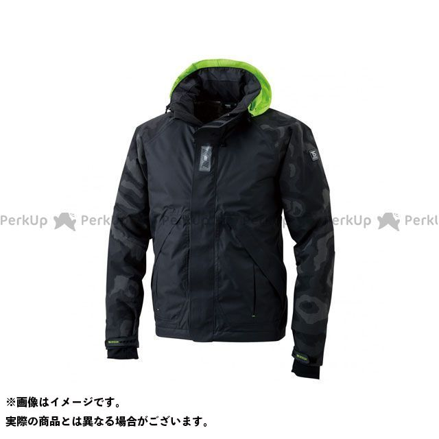 TSデザイン メガヒートフラッシュ防水防寒ジャケット(ブラック) サイズ:S TS DESIGN