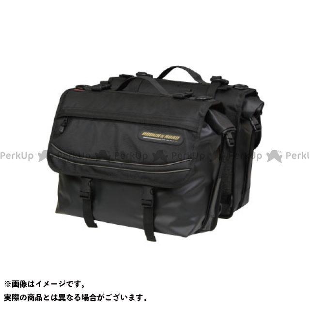 送料無料 ラフ&ロード ラフアンドロード ツーリング用バッグ RR5613 AQA DRYサイドバッグ G-ブラック