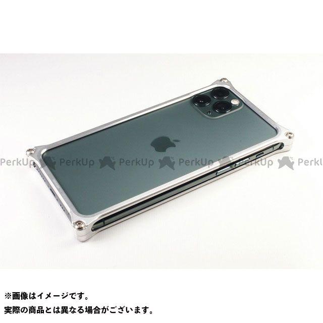 GILD design(mobile item) GI-426S ソリッドバンパー for iPhone 11 Pro(シルバー) GILD design
