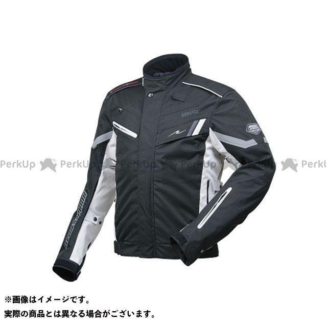ラフ&ロード RR7104 ゴアテックス(R)SSFライディングジャケットFP ブラック×プラチナシルバー L ラフアンドロード
