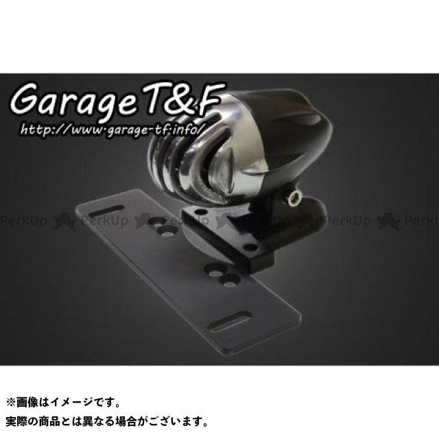 ガレージT&F 汎用 アンティーク バードゲージテールランプ カラー:ポリッシュ ガレージティーアンドエフ