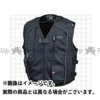 送料無料 hit air ヒットエアー ジャケット Vest MC5(ブラック) M
