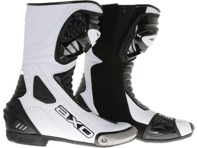 送料無料 AXO アクソー レーシングブーツ レーシングブーツ「PRIMATO II」 ブラック/ホワイト 38