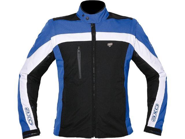 送料無料 AXO アクソー ジャケット ライディングジャケット「DYNAMIC」 レディース ブルー XS
