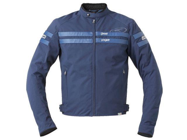 送料無料 AXO アクソー ジャケット ジャケット「STREET VOGUE ROMA」 ブルー XL