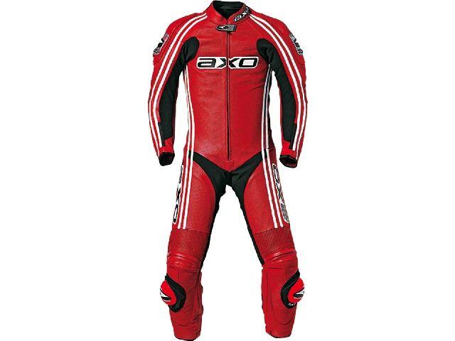 送料無料 AXO アクソー レーシングスーツ レーシングスーツ「BULLET」 ロング レッド 52/101-104cm