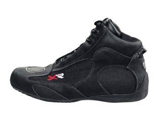 送料無料 IXS イクス ライディングブーツ バイク用ブーツ(オールシーズン) FURY(ブラック) 38