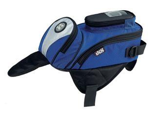 送料無料 IXS イクス ツーリング用バッグ マグネット バッグ SPEED ブルー