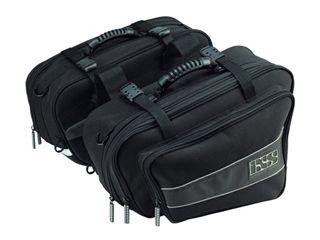 送料無料 IXS イクス ツーリング用バッグ バイク用サドルバッグ FLOW