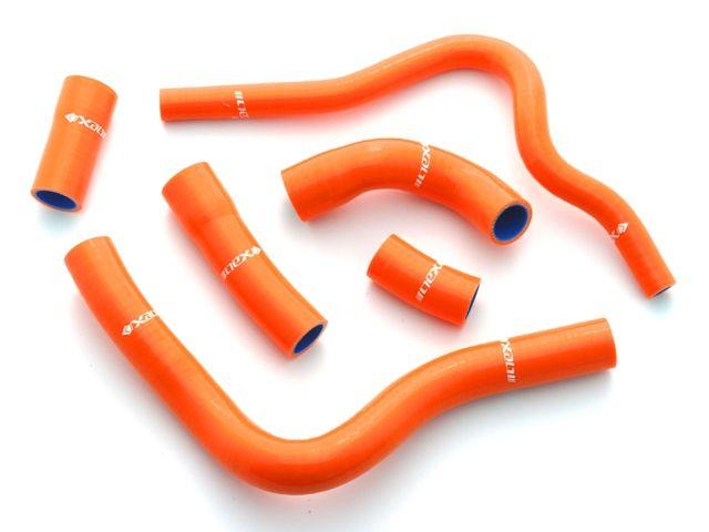 ネックスパフォーマンス CBR1000RRファイヤーブレード 冷却系ホース類 シリコンラジエターホースキット オレンジ