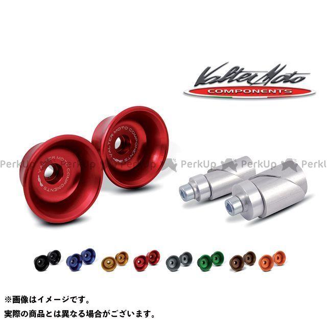 バルターモトコンポーネンツ アクスルスライダー フロント用 カラー:レッド Valter Moto components