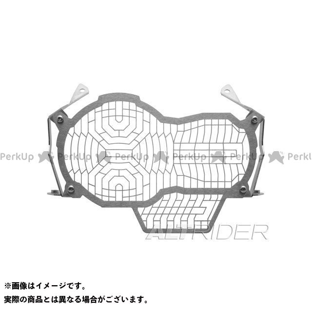 アルトライダー R1200GS ヘッドライトガード(ストーンガード)エクステンデッド ステンレスメッシュ BMW R1200GS LC フレームカラー:シルバー 取付部品:あり ALTRIDER